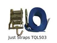 Just Straps Transport Quick Lash Ratchet & Strap 3 Metre