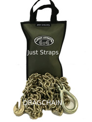 Just Straps 4WD Drag Chain 8mm / 5 metre