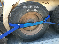 Just Straps Vehicle Transport Wheel Strap 6 metre