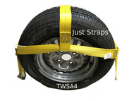Just Straps® Car Transport Tow Dolly Adjustable Strap 4 metre