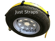 Just Straps Car Transport Inline Strap 4 metre