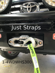 Just Straps 4WD Winch Hook Strap
