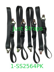 Just Straps Shade Sail Cam Buckle straps 4 pack