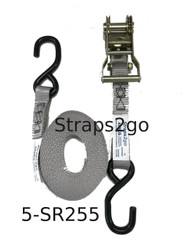 Straps2go Tie Down Ratchet H/Duty 25mm / 5metre