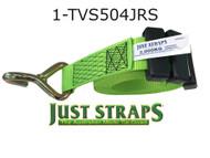 Just Straps® Car Transport Inline Strap 4 metre c/w J Hook