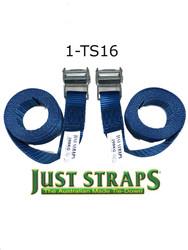 Just Straps® 36mm/2metre Cam Buckle strap H/Duty webbing