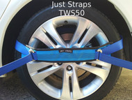 Just Straps® Car Transport Wheel Strap