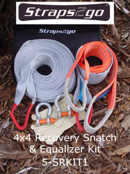 Straps2go 4x4 Recovery Snatch & Equalizer