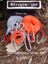 Straps2go 4x4 Recovery Standard Recovery Kit