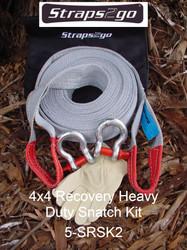 Straps2go 4x4 Recovery Heavy Duty Snatch kit
