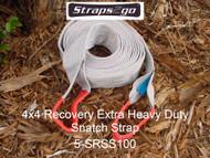 Straps2go 4x4 Recovery X/Heavy Duty Snatch Strap