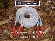Straps2go 4x4 Recovery Snatch Strap 8100kg MBS