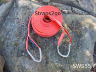 Straps2go 4x4 Recovery Winch Extension Strap 5,100kg MBS