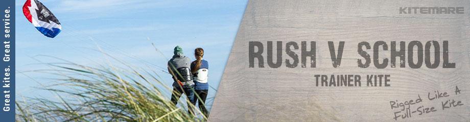 Rush V School Kiteboarding Trainer Kite