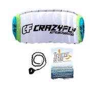Crazyfly Sensei II 2-Line Kiteboarding Trainer Kite | 2m & 3m