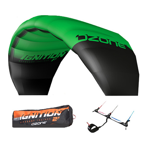 Ozone Ignition V2 2018 Kiteboarding Trainerkite Package