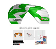 Peter Lynn Xplore 4m Snow Kite Complete Package