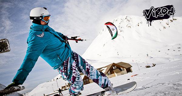 Flysurfer Viron Beginner Kite for Snowkiting