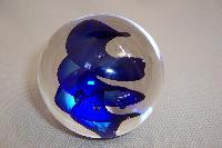 MS004 - Whisp Blue Paperweight