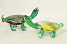 BE019 -  Art Glass Sea Turtle