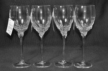 Ion Tamaian Clear Wine Glass Set/4