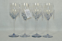 Ion Tamaian Metallic Blue Wine Glass Set/4