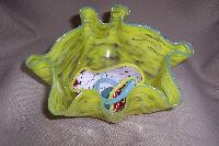VM001 - Art Glass Collage, Organic Bowl
