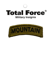 OCP Mountain Tab Patch