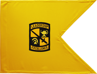 ROTC Guidon Gold Background Unframed 20x27 (Regulation)