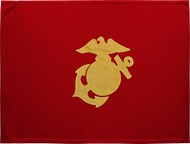 Marine Corps Guidon Unframed 20x27 (Regulation)