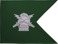 Psychological Operations Corps Guidon Unframed 20x27 (Regulation)