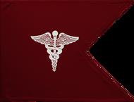 Medical Corps Guidon Unframed 20x27 (Regulation)
