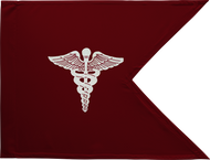 Medical Corps Guidon Unframed 05x09