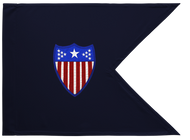 Adjutant General Corps Guidon Unframed 20x29