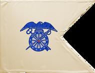 Quartermaster Corps Guidon Framed 08x10