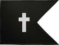 Chaplain Guidon Framed 24x31 (Regulation)