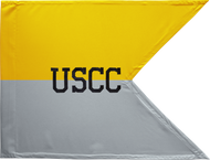 United States Corp of Cadets Guidon Framed 08x10