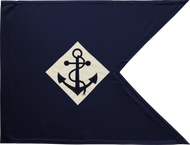 US Navy Guidon Framed 11x14