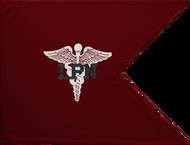 LPN Medical Corps Guidon Framed 24x31 (Regulation)