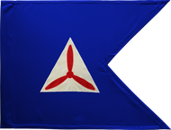 Civil Air Patrol Guidon Framed 24x31 (Regulation)