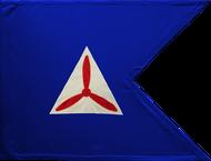 Civil Air Patrol Guidon Framed 24x31 (Regulation)