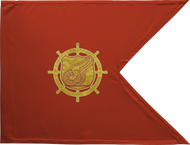 Transportation Corps Guidon Framed 24x31 (Regulation)