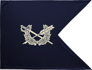 Judge Advocate General Corps Guidon Framed 24x31 (Regulation)