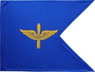 Aviation Corps Guidon Framed 24x31 (Regulation)