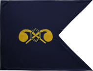Chemical Corps Guidon Unframed 20x27 (Regulation)