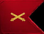Field Artillery Corps Guidon Framed 08x10