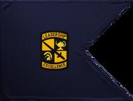 ROTC Guidon Blue Background Unframed 20x27 (Regulation)