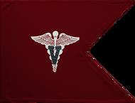 Veterinary Corps Guidon Framed 08x10