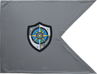 Cyber Protection Brigade Guidon Unframed 20x27 (Regulation)