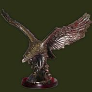 LARGE EAGLE IN FLIGHT